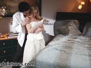 New bride Lexi Belle acquires fucked by her chap