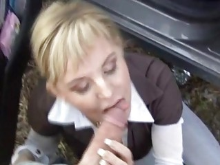 Czech Streets Petra Blowing A Cock For Specie