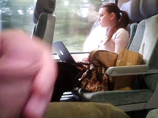 Flash in a Train and she looks many times-Flostylez
