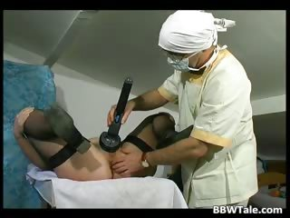 Obese old doxy got tortured by horny