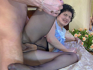 Inessa&Herbert horny nylon feet movie