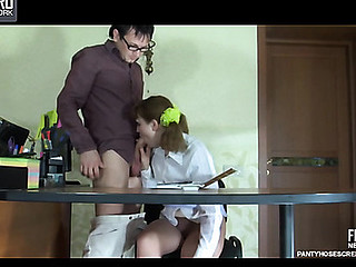 Marina&Rolf  horny hose movie scene