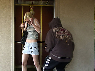 Smokin' Golden-Haired Receives Creamed By Cum
