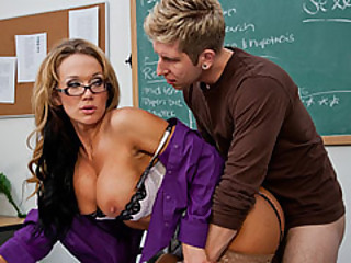 Teacher Nikki Tempt By Her Student Named Danny