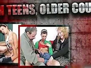Grandpa copulates hot slutty nurse