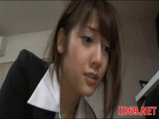 Japanese AV Model gets pulled out for sex