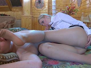 Mary&Jack nifty nylon feet movie