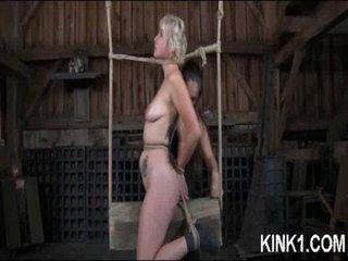 Slut Ball-gagged and Left