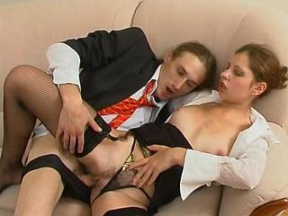 Sophia&Marcus wicked nylon movie scene
