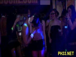 Sluts found miniature dick in club
