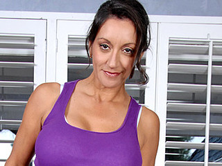 Spruce Anilos mother i'd like to fuck stretches her bare body during a yoga routine