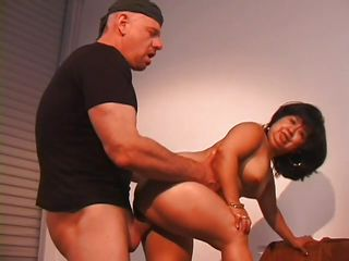 midget slut acquires a big thick cock