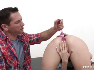 hot slutty babe gets her ass punished
