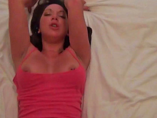 Kendra White sucking erect cock and getting drilled during hardcore
