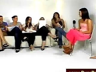 Beauties Talking Dick On Camera