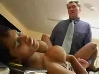 Indy girl fucked in office