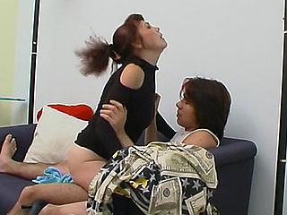 Lillian&Danil leggy mama on clip