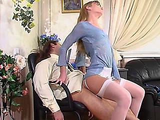 Diana&Lesley attractive nylon movie