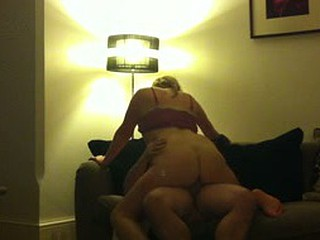 British wife riding