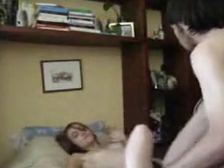 hairy teen couple fucking