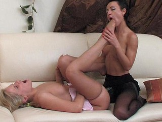 Benett&Subrina nasty nylon feet movie