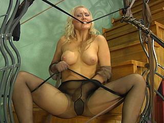 Flossie in great hose movie