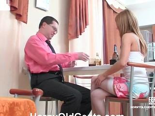 Alice&Leonard oldman sex video