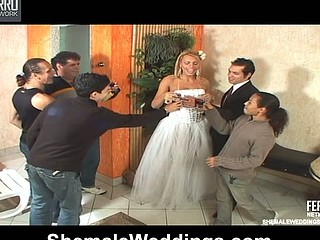Duda pretty shemale bride