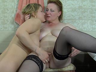 Viola&Megan lesbo aged movie scene