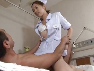 horny nurse knows her job
