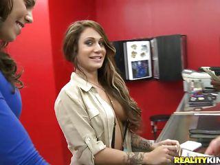 sexy brunette taylor needs money