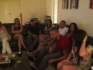 lap dace at a slut party