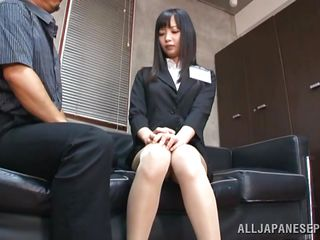 shy teacher knelt and mouth fucked