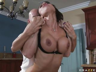 pair fucking in the kitchen table