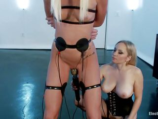 watch two blonde lesbians having a perverted time together