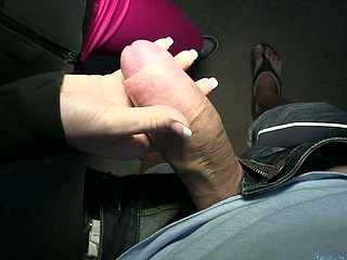 Lovable Emma gets a thick schlong in her tight love canal