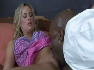 Horny MILF Kylie Valuable acquires a black workman's cock