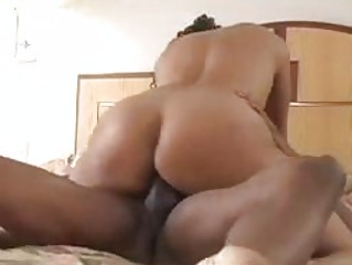 Concupiscent slut fucked hard in the bedroom