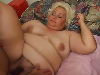 Hot BBW Fucks Santa