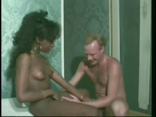 Black and Golden-haired Babes Getting Drilled Hard By White Cocks