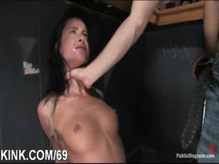 Adulteress blackmailed and dominated in servitude