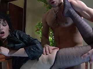 Inessa&Herbert nasty nylon feet movie