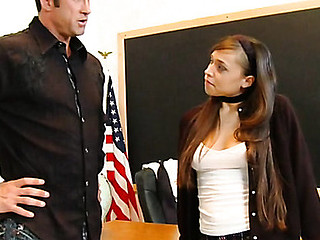Legal Age Teenager slut punished by tutor