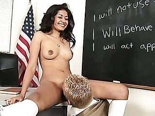 Obscene after-school fuck