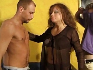 See these european swingers go crazy in a hardcore orgy