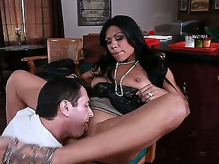 Mouthwatering sexy Cassandra Cruz adores oral games, and John Strong can give her all this pleasure