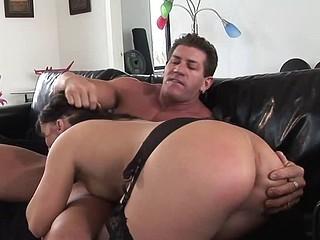 Dirty girl Katje loves her ass dicked