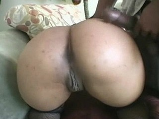 Black shlong in white anal