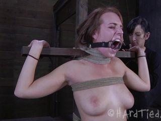 female-dom treats her gal badly
