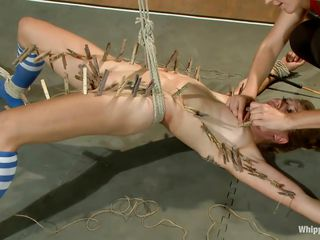 lesbo torture and domination in the locker room